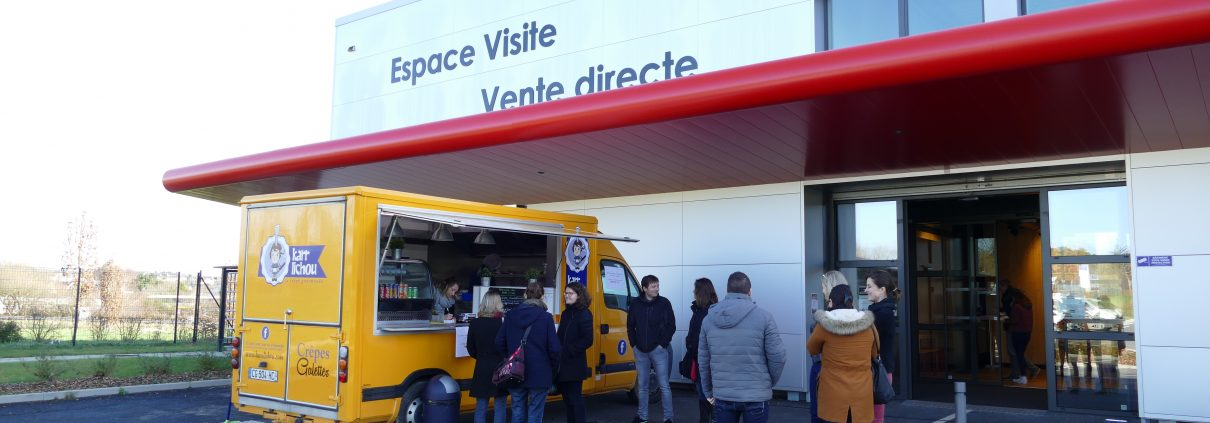 Foodtruck crepes bretonnes