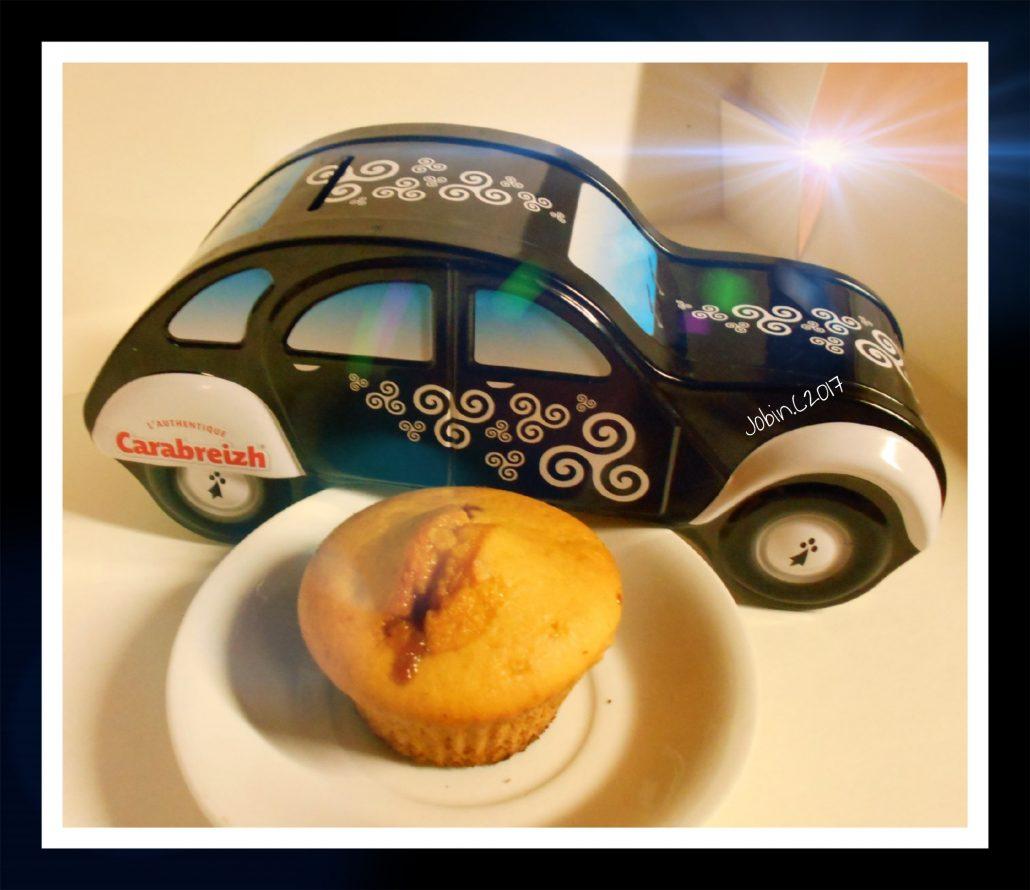 muffins caramels beurre salé carabreizh