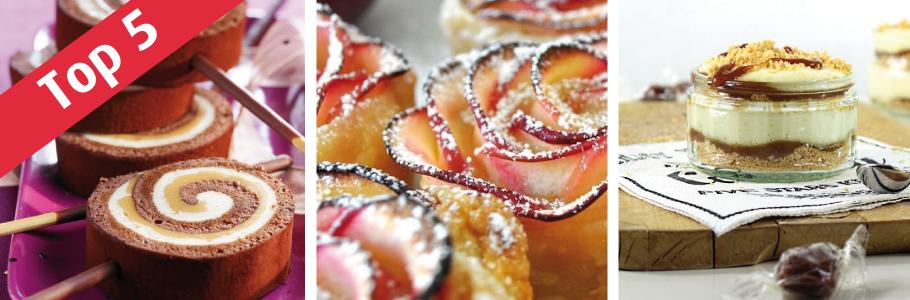 top 5 recettes caramel