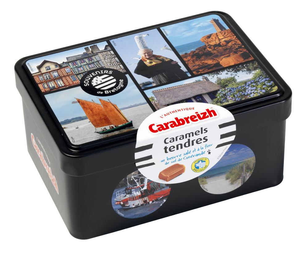 812 Carabreizh caramels boite sucrette photos patchwork 170gr