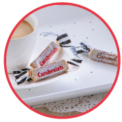 Caramel en barre tasse café carabreizh