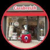 boutique carabreizh quiberon caramel bretagne