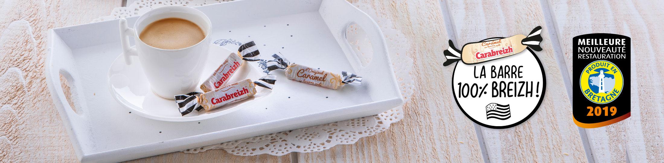 prix meilleure nouveauté 2019 caramel en barre