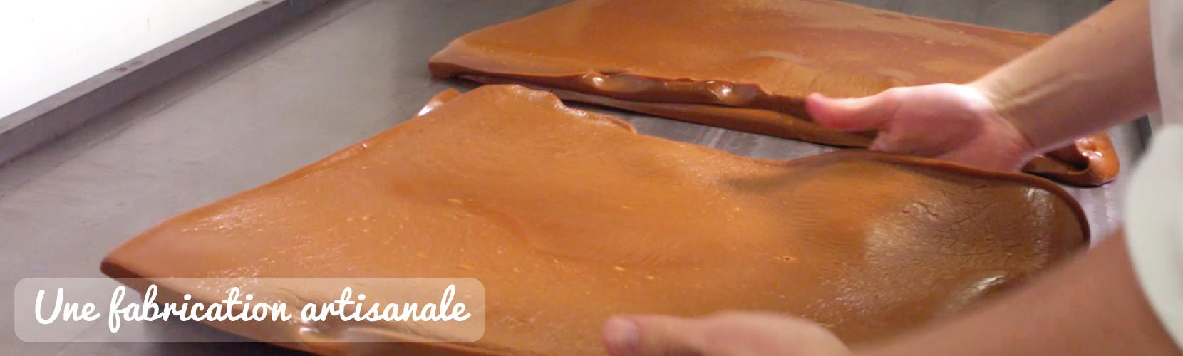 fabrication artisanale caramel